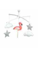 Mobile Flamant Rose orange