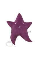 Purple musical star