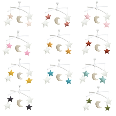 Customizable Moon and stars mobile