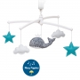 mobile baleine personnalisable